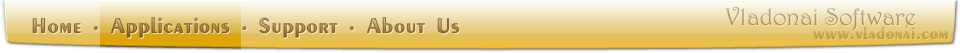 Vladonai Software Navigation Bar